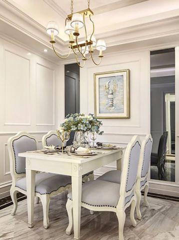 餐厅白色吊顶现代风格装修效果图
