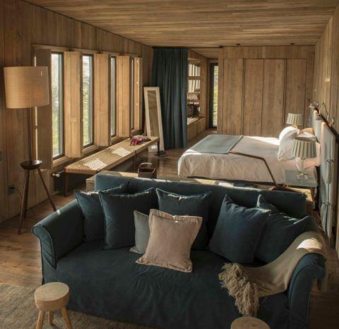 卧室沙发田园风格装饰图片