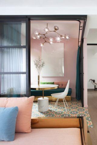 起居室吊顶现代简约风格装饰设计图片