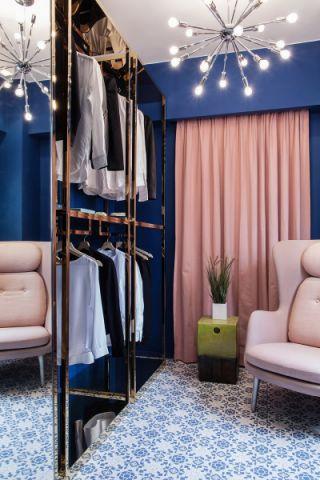 衣帽间吊顶现代简约风格装潢设计图片