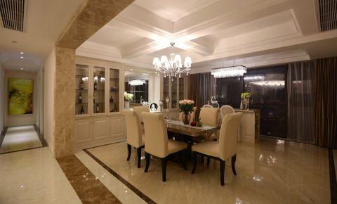简欧风格192平米三室两厅室内装修效果图