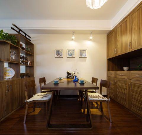 餐厅餐桌中式风格装修图片