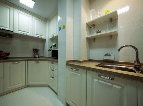 厨房橱柜中式风格装潢图片