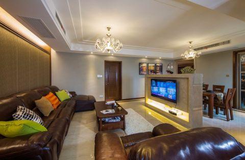 现代风格190平米大户型室内装修效果图