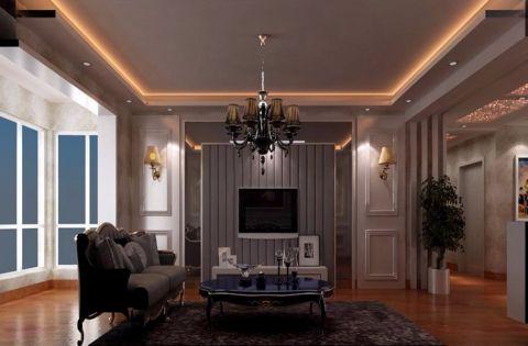 简欧风格150平米三室两厅室内装修效果图