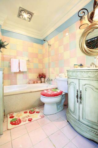 浴室浴缸地中海风格装修图片