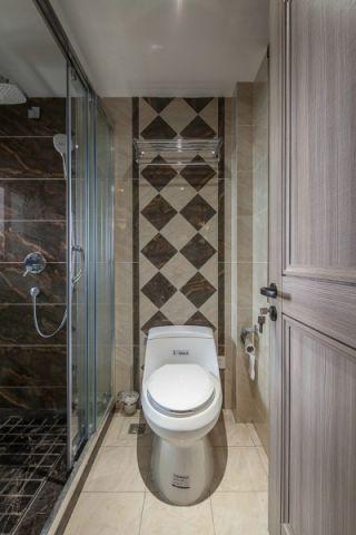 卫生间地砖简约风格装饰设计图片