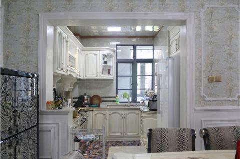 厨房橱柜新古典风格装潢设计图片