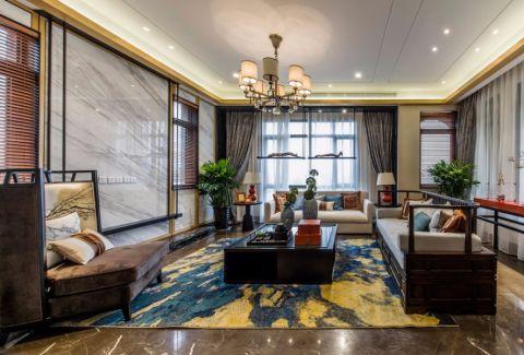 混搭风格178平米四室三厅室内装修效果图