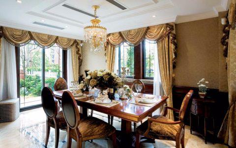 欧式风格140平米四室两厅房子装修效果图