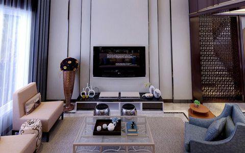 现代风格340平米别墅新房装修效果图
