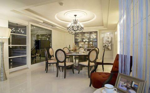 餐厅吊顶新古典风格装潢效果图