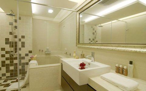 浴室浴缸新古典风格装潢图片