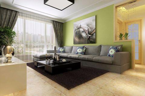 现代风格133平米三室两厅新房装修效果图