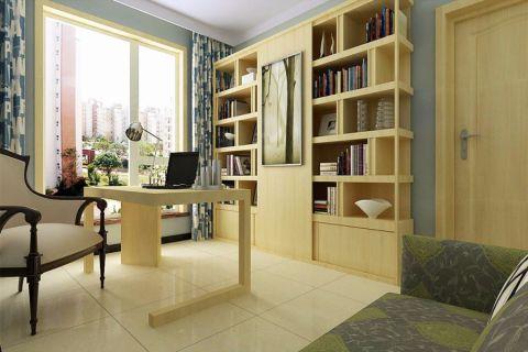 书房书架现代风格装饰设计图片