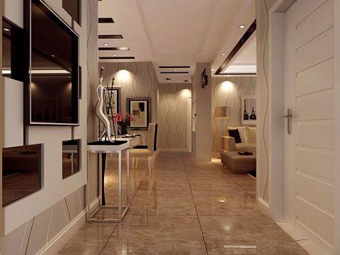 客厅门厅现代简约风格装饰图片