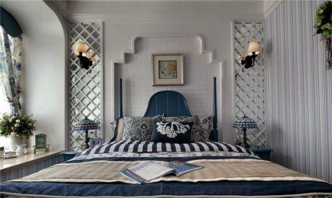 卧室地中海风格装饰图片