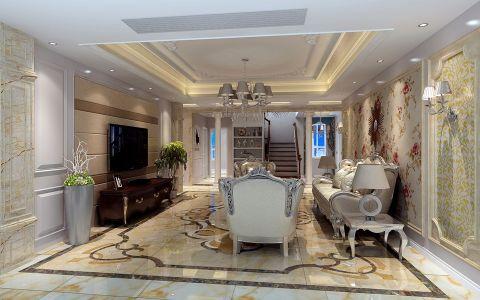 欧式风格379平米别墅房子装修效果图
