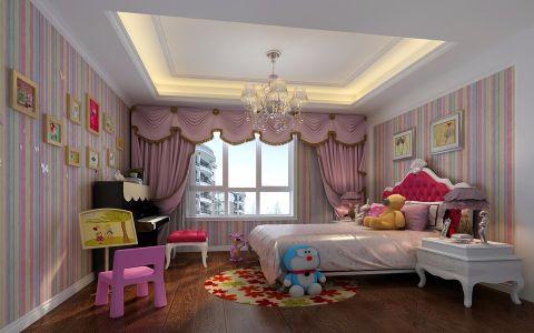 儿童房照片墙欧式风格装修图片