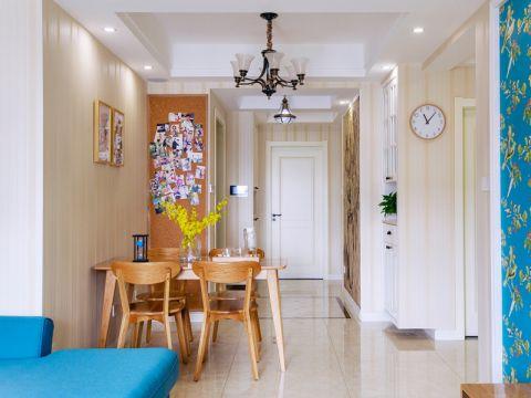 现代风格89平米三室两厅室内装修效果图