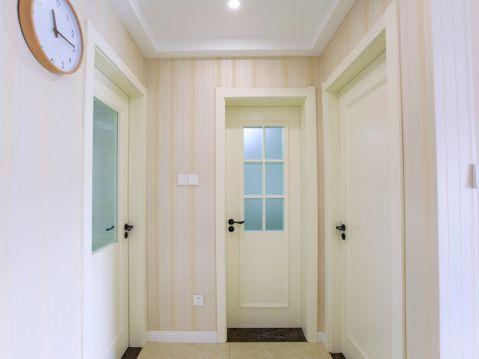 玄关背景墙现代风格装潢设计图片