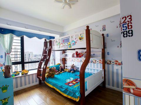 儿童房飘窗现代风格装饰图片