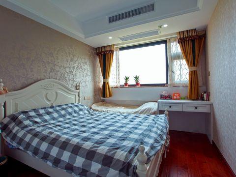 卧室书桌简欧风格装饰图片