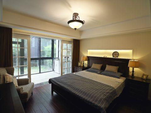 卧室吊顶田园风格装饰图片