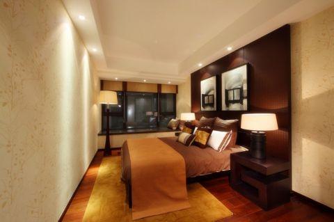 卧室床头柜新中式风格装潢图片