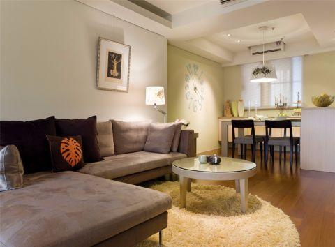 客厅茶几简约风格装饰效果图