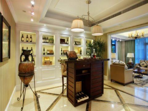 新古典风格128平米四室两厅新房装修效果图