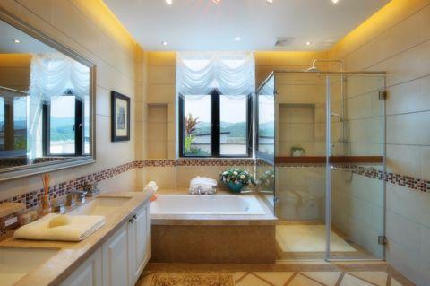 浴室新古典风格装潢设计图片