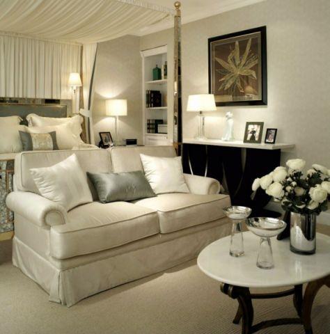 卧室沙发后现代风格装修效果图