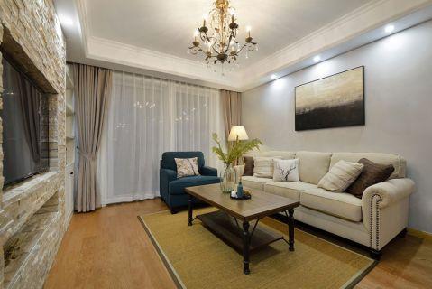 简约风格120平米三居室室内装修效果图