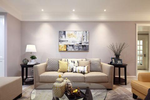 美式风格110平米套房室内装修效果图