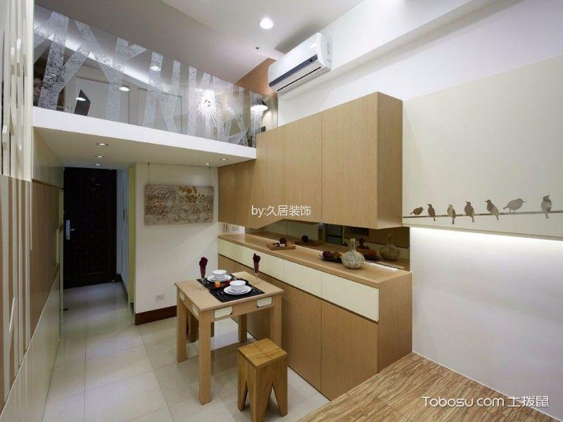 玄关白色走廊日式风格装潢图片