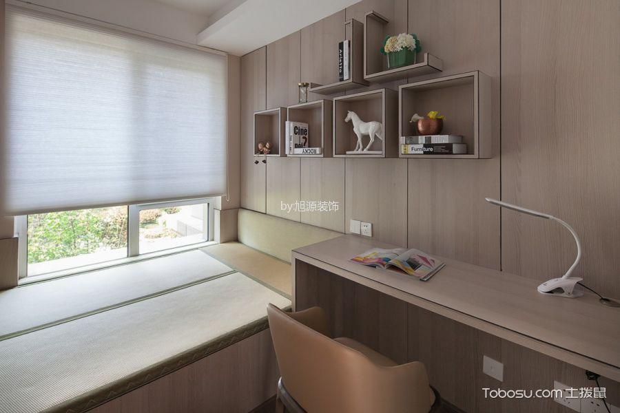 卧室黄色榻榻米混搭风格装饰效果图