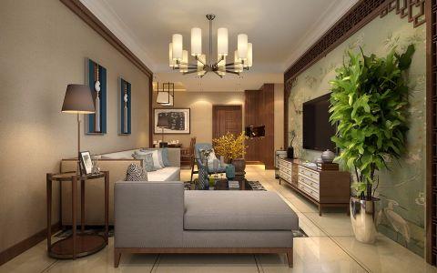 中式风格150平米大户型房子装修效果图