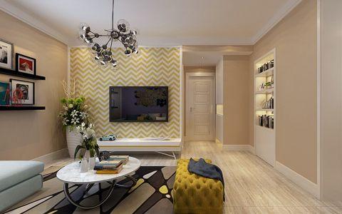 客厅吊顶现代简约风格装饰图片