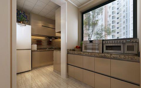 厨房橱柜现代简约风格装潢设计图片