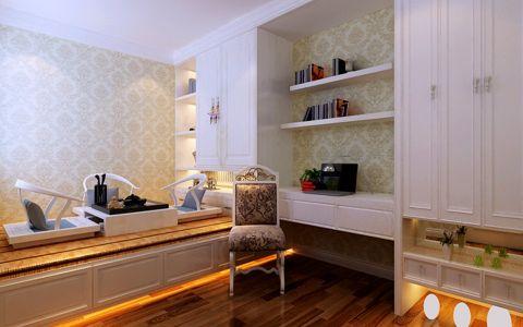 书房榻榻米现代简约风格装修图片