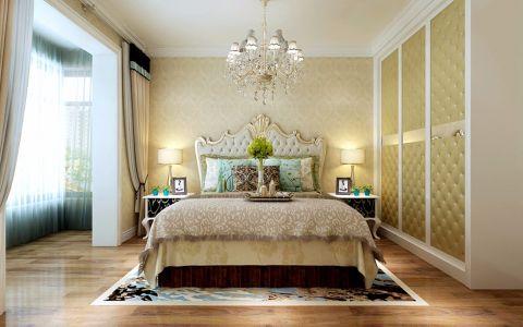 卧室吊顶简欧风格装饰设计图片