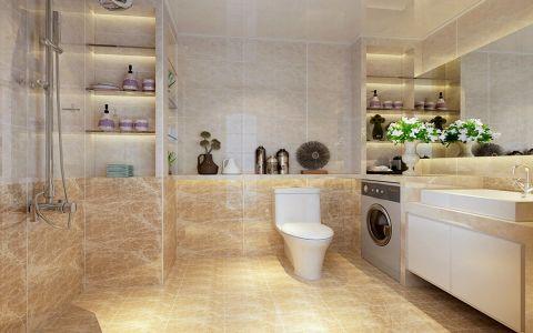 卫生间地砖简欧风格装饰效果图