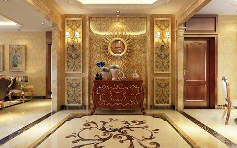 玄关地砖简欧风格装饰图片
