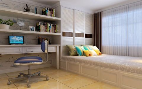卧室榻榻米现代简约风格装修设计图片
