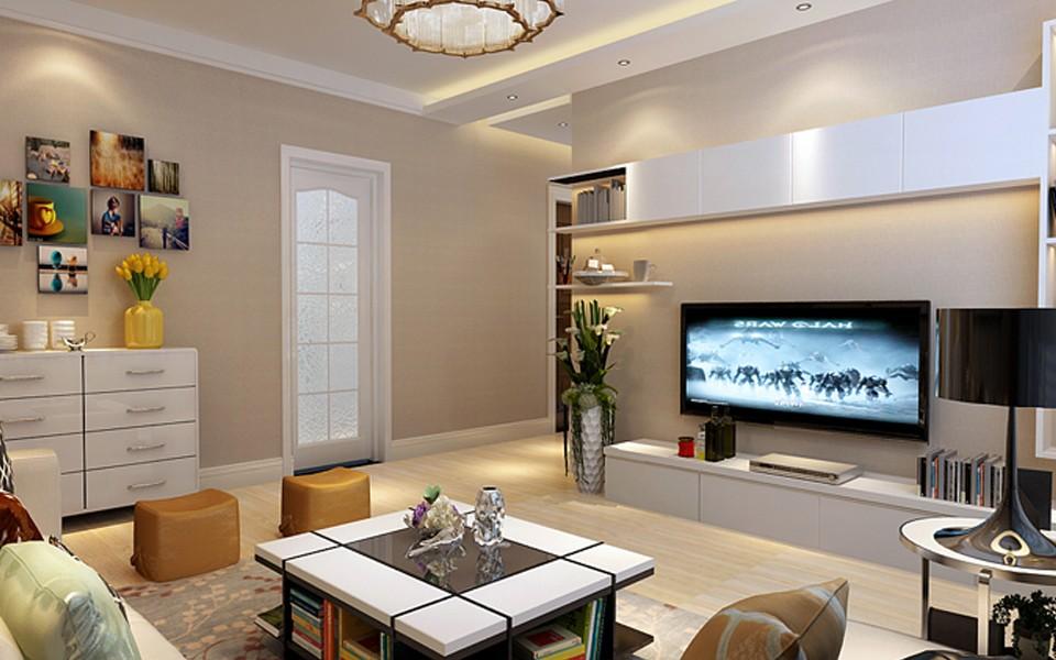 2室1卫1厅84平米现代简约风格
