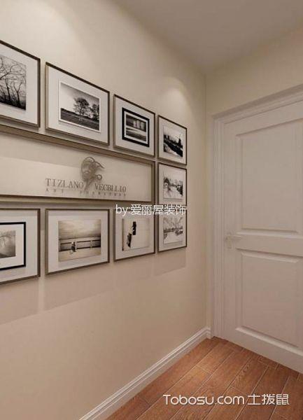 卧室白色照片墙欧式风格装修效果图