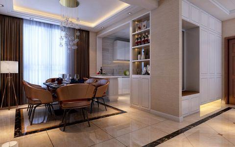 餐厅窗帘现代简约风格装潢设计图片