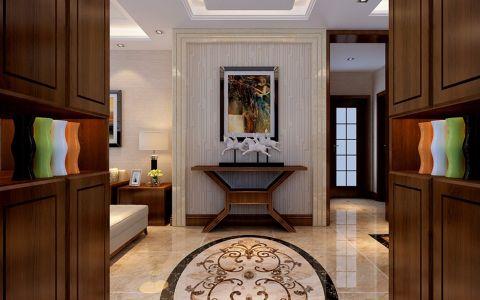 新中式风格140平米大户型室内装修效果图