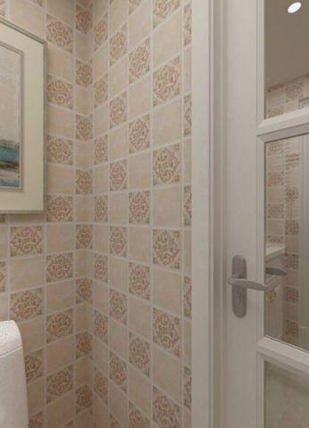 卫生间背景墙欧式风格装修图片
